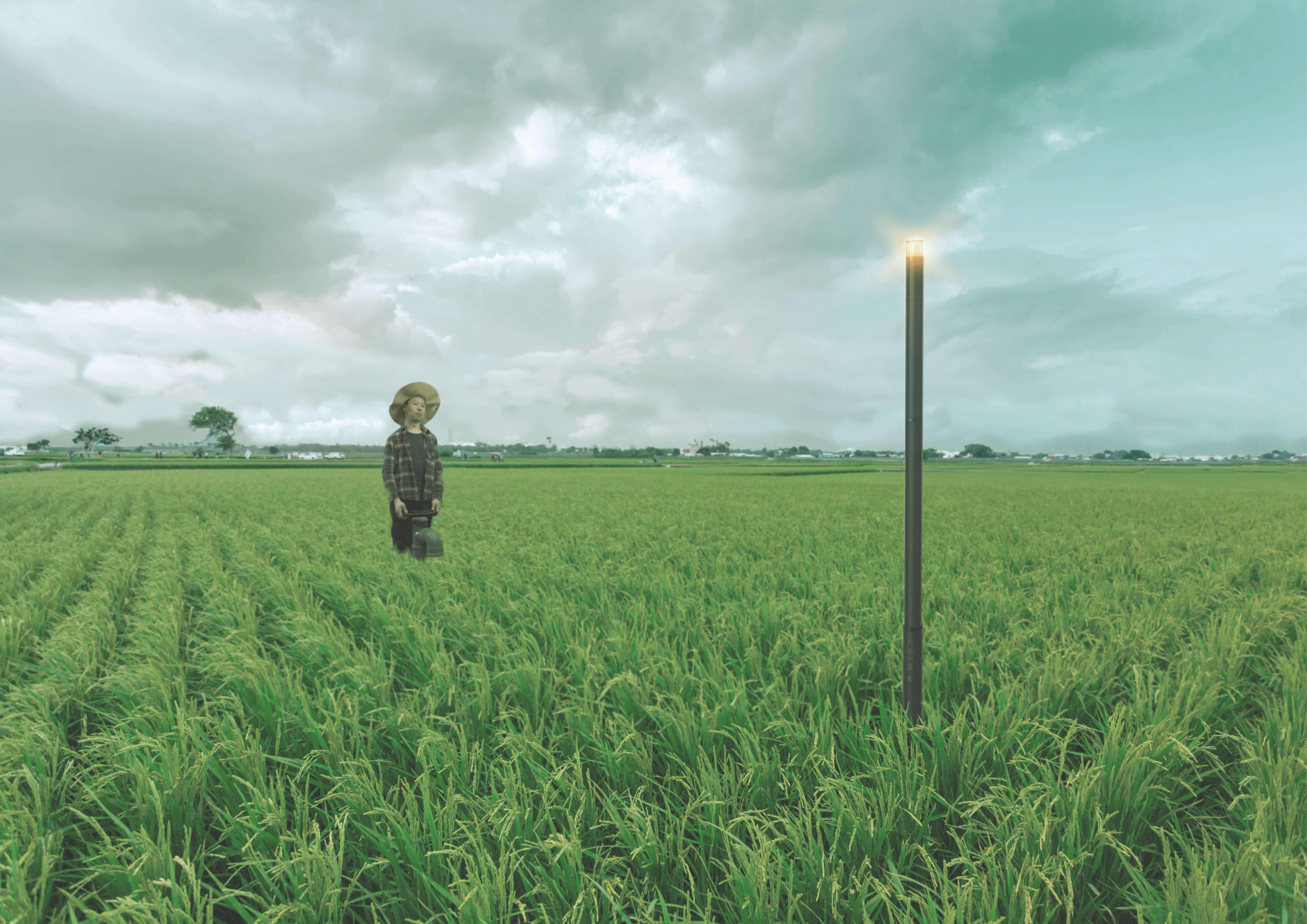 """""""Ze He"""", Ein Messgerät für Wasserregulierung in dem Kontext von chinesischen Kleinreisbauern"""