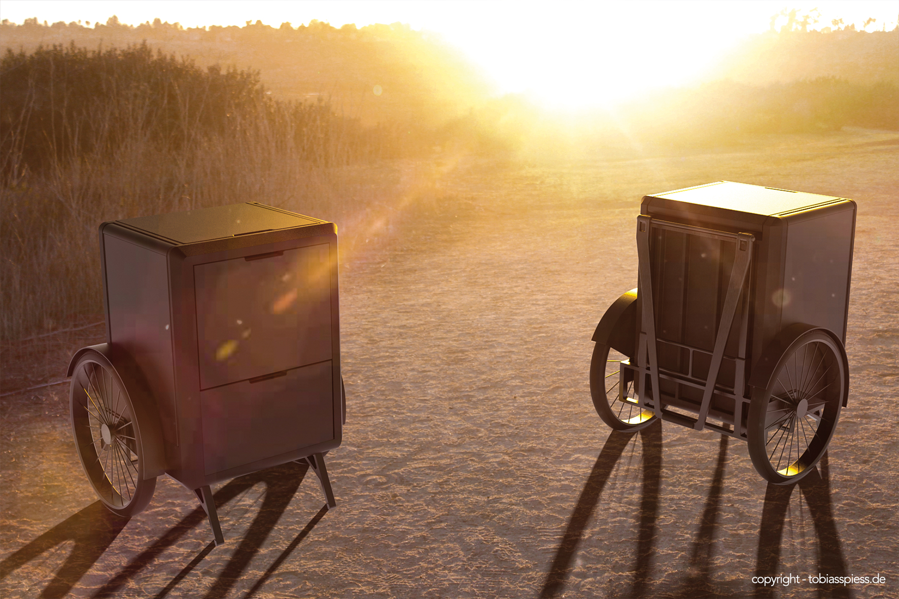 MOOTBOX – Mobile Outdoor Trolley