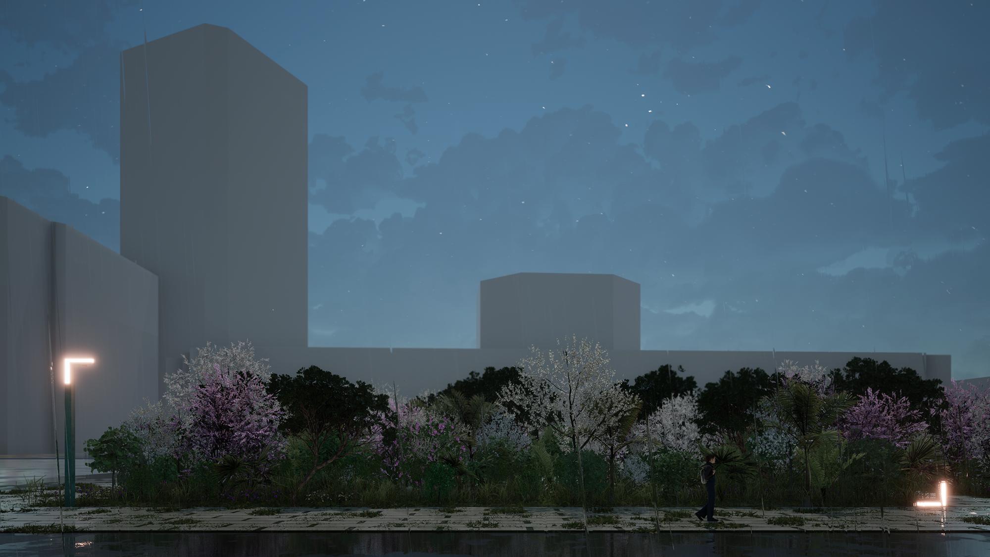 Gestaltung für urbane Wälder / Design for urban forests