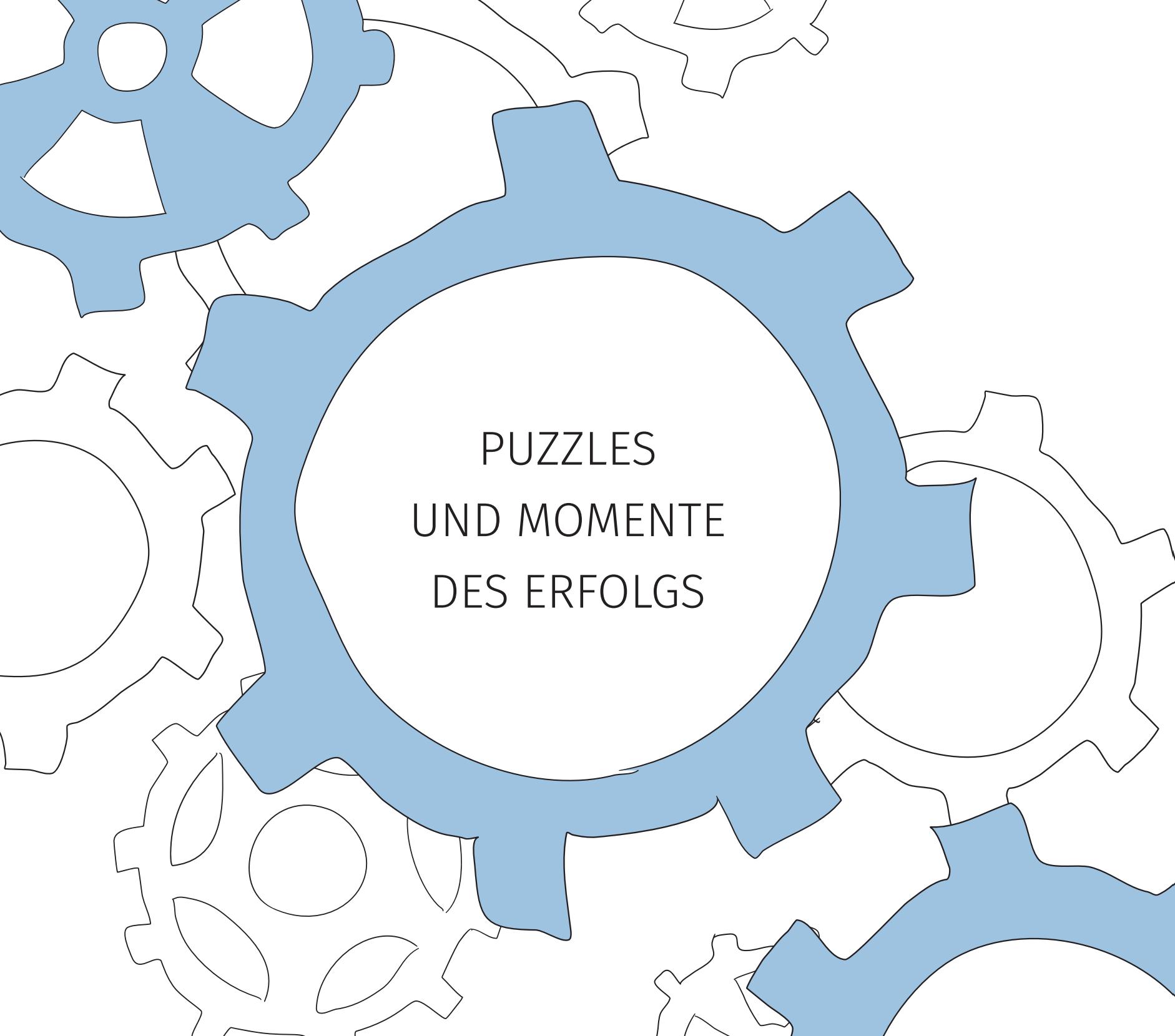 Puzzles und Momente des Erfolgs