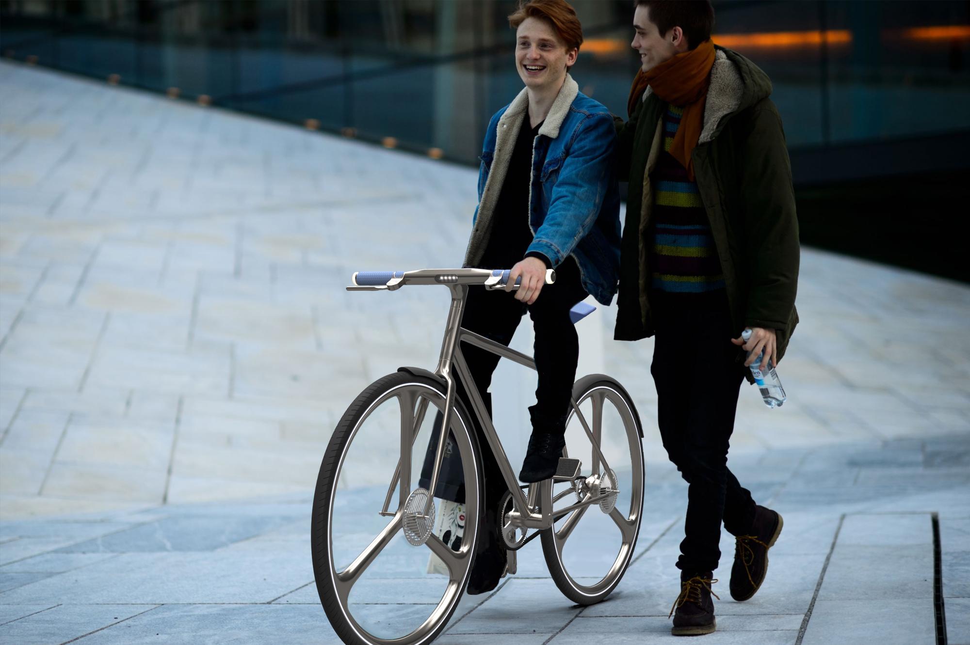 Cyclist – Das Pandemie Leihfahrrad / Cyclist – The Pandemie Sharing Bike
